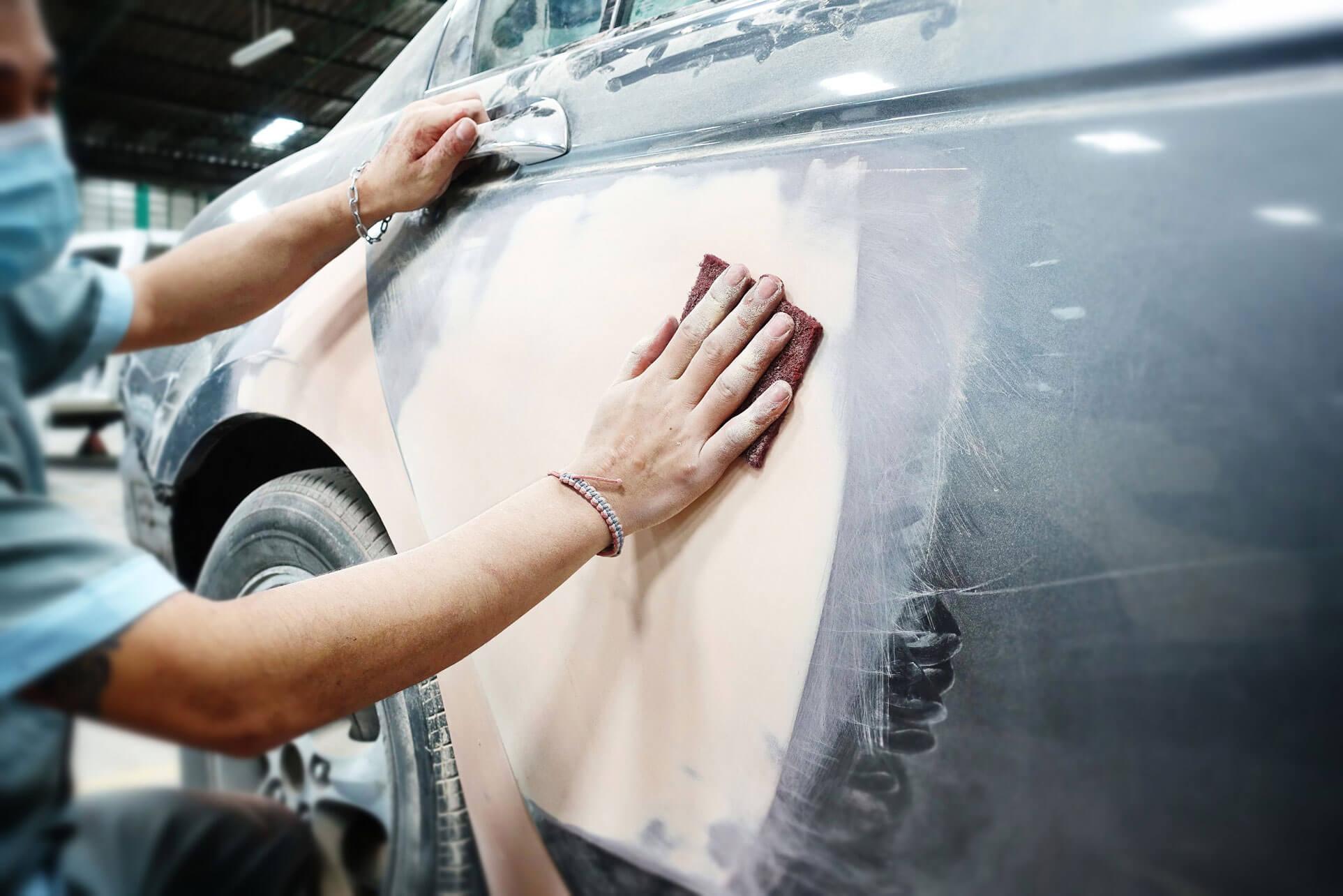 Car Sanding